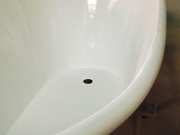 Acabado de la bañera.