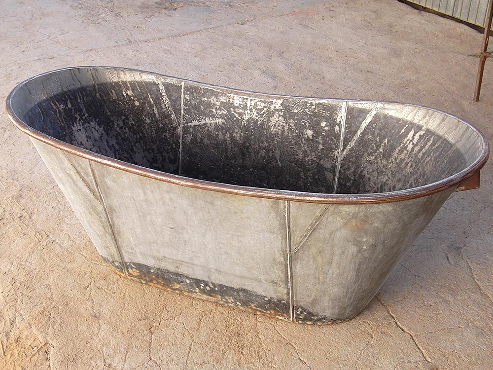 Estado inicial de la bañera.