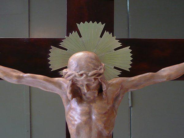 Cristo crucificado.