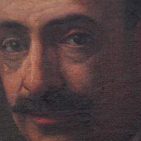 Retrato caballero cordobés restaurado.