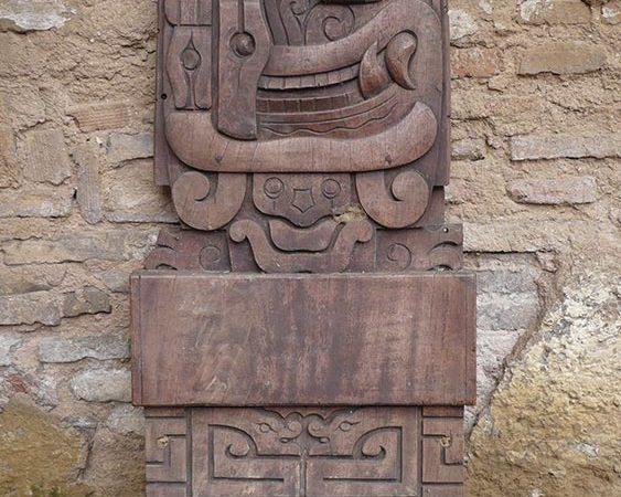 Relieve Maya Yucatán restauración.