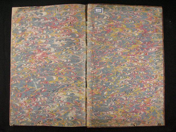 Estado inicial del libro de grabados.