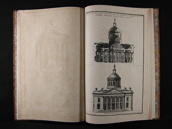 Libro de grabados restaurado.